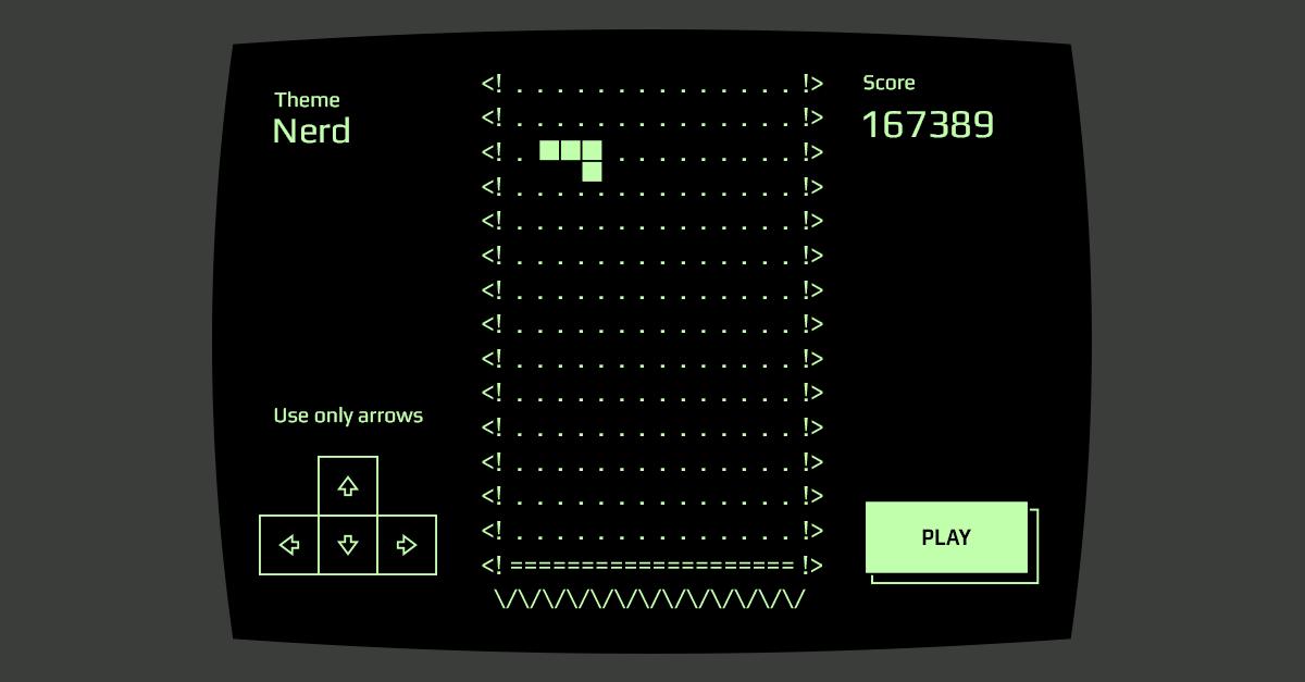 Blockrain js - A Tetris game in HTML5 + Javascript (with